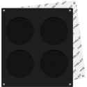 Freedom system apvali makiažo paletė pudrai